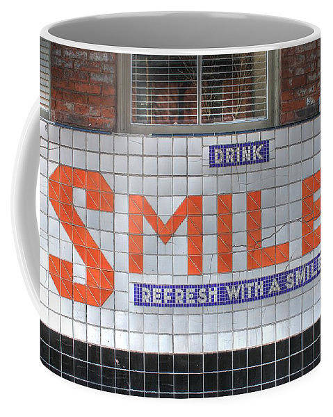 Wall Art - Photograph - Smile Coffee Cup Soulard by Jane Linders