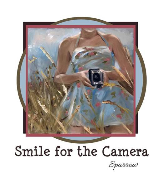 Novelties Painting - Smile For The Camer by Mary Sparrow