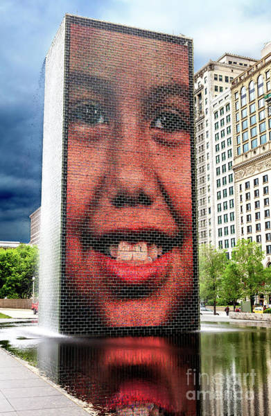 Photograph - Smile In Chicago by John Rizzuto