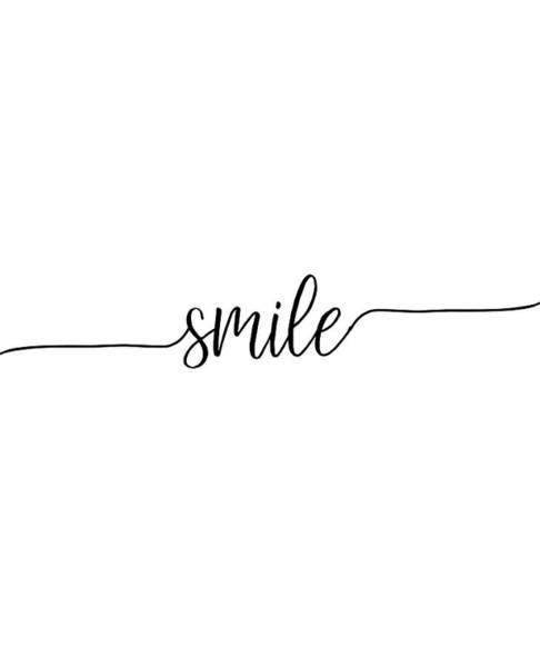Smiling Wall Art - Digital Art - Smile by Jaime Friedman