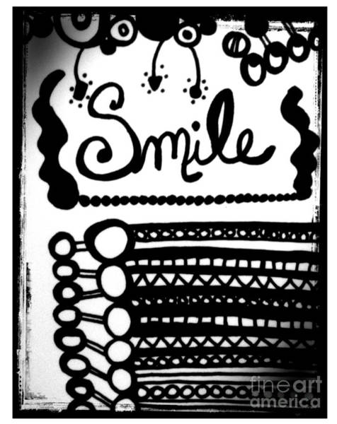 Drawing - Smile by Rachel Maynard