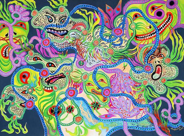 Smiles Art Print
