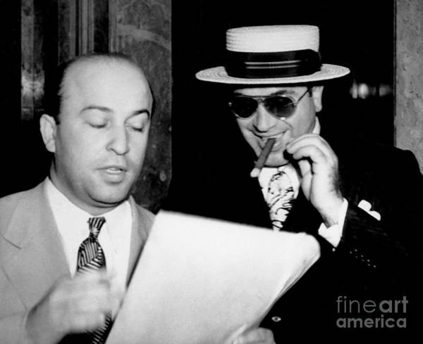 Wall Art - Photograph - Smiling Al Capone by Jon Neidert