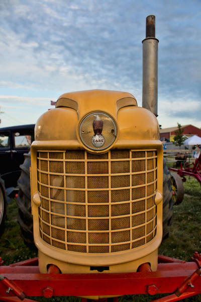Photograph - Smiling Case Tractor by Kristia Adams