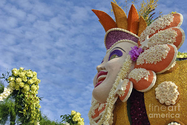 Tournament Of Roses Photograph - Smiling Face by David Zanzinger