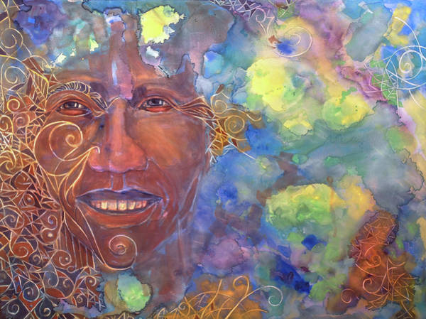 Painting - Smiling Muse No. 1 by Cora Marshall