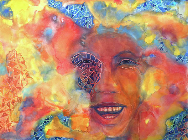 Painting - Smiling Muse No. 2 by Cora Marshall