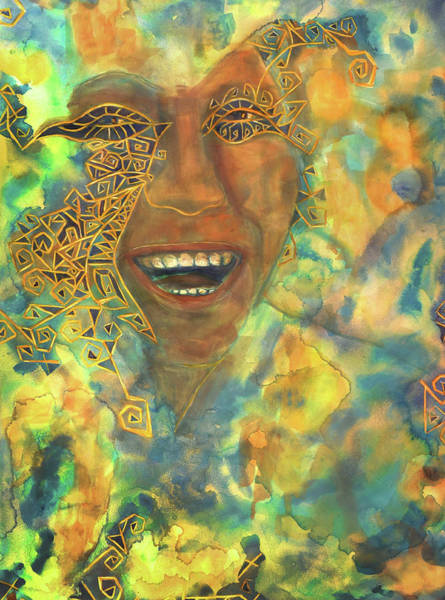 Painting - Smiling Muse No. 3 by Cora Marshall