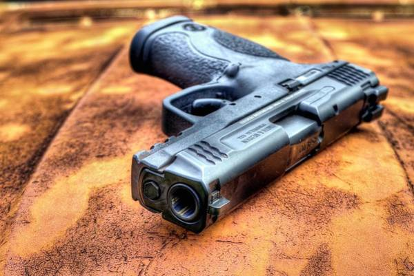 Wesson Photograph - Smith And Wesson by JC Findley