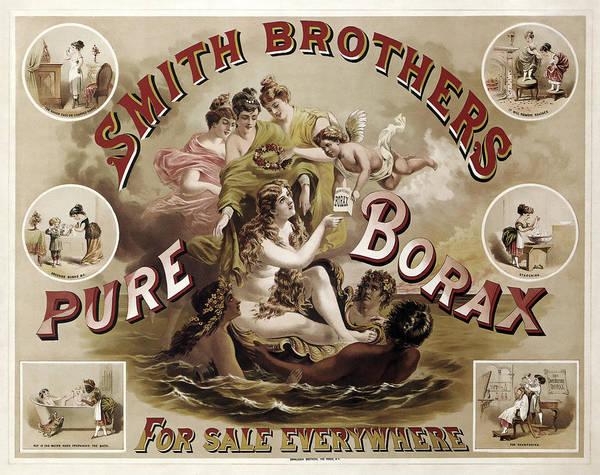 Wall Art - Photograph - Smith Brothers Pure Borax C. 1880 by Daniel Hagerman