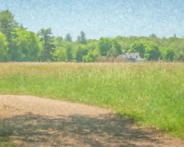 Painting - Smith Farm In June 2016 by Bill McEntee