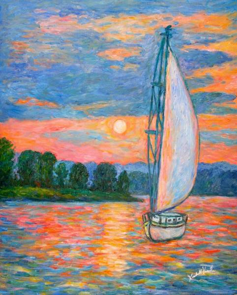 Painting - Smith Mountain Lake by Kendall Kessler