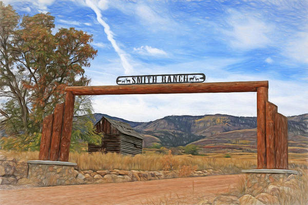 Wall Art - Photograph - Smith Ranch by Donna Kennedy
