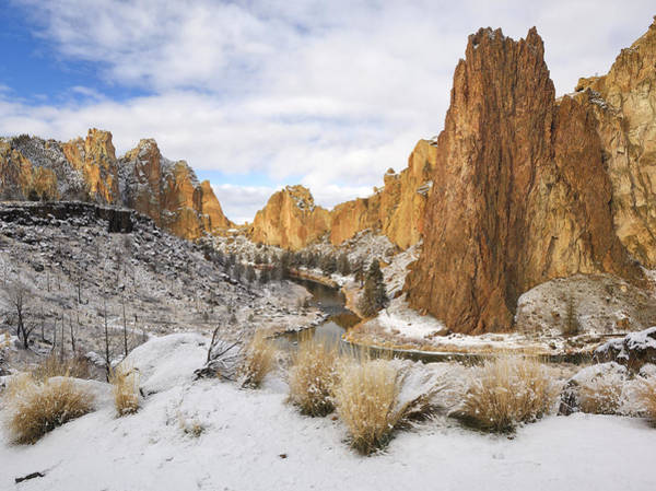 Crooked River Photograph - Smith Rock by Christian Heeb