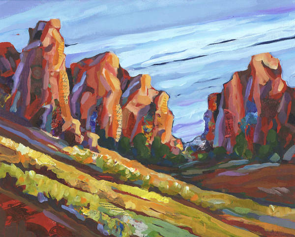 Painting - Smith Rock I by Shelli Walters