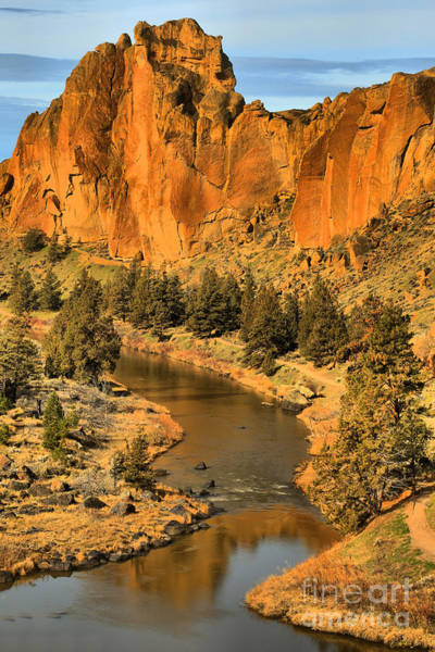Crooked River Photograph - Smith Rock Portrait by Adam Jewell