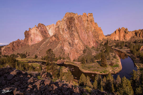 Crook Wall Art - Photograph - Smith Rock  by Russell Wells