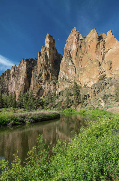 Crooked River Photograph - Smith Rock Spires by Greg Nyquist