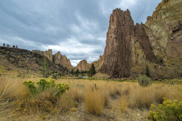 Photograph - Smith Rock State Park 2 by Jedediah Hohf