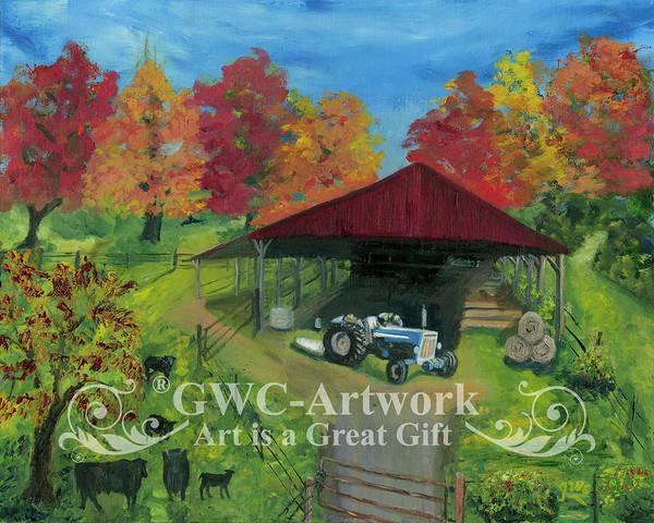 Wall Art - Painting -  Smith's  Farm by Gloria Condon