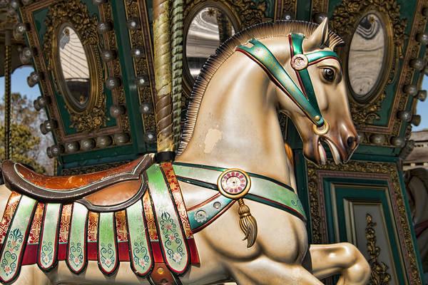 Photograph - Smithville Roman Carousel Pony by Kristia Adams