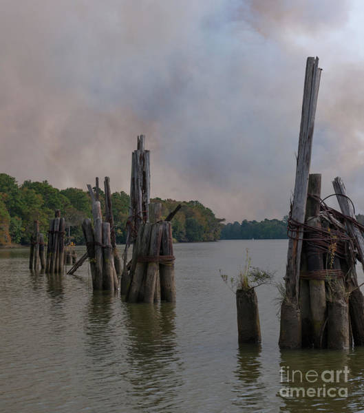 Photograph - Smoke Billowing IIi by Dale Powell