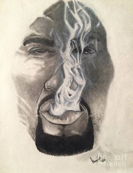 Dope Mixed Media - Smoke by Gregory Taylor