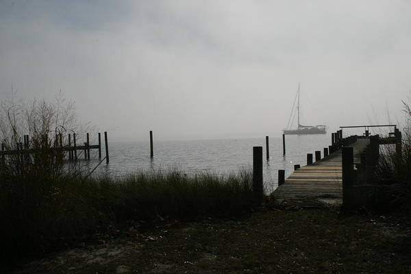 Shirleys Bay Photograph - Smoke On The Water by Shirley Cox Schroeder