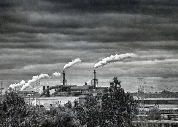 Photograph - Smokestacks by William Beuther