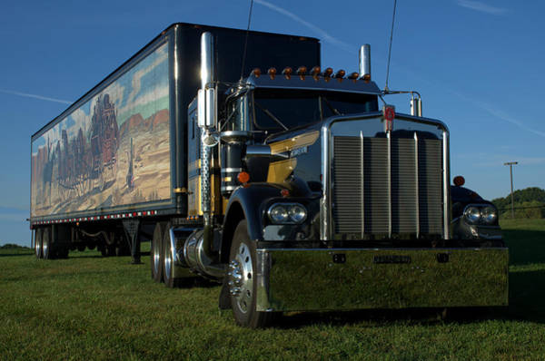 Photograph - Smokey And The Bandit Tribute Semi Truck by Tim McCullough