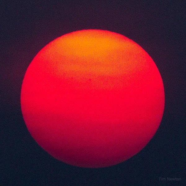 Photograph - Smokey Midnight Sun by Tim Newton