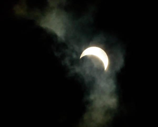 Photograph - Smokey Moon by Brian Hale