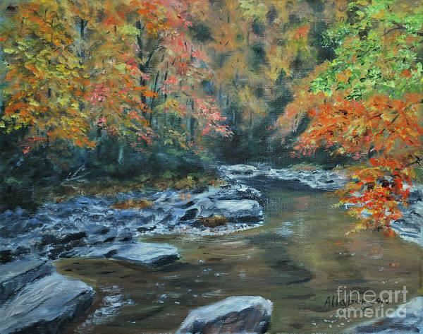 Painting - Smokey Mountain Autumn by Stanton Allaben