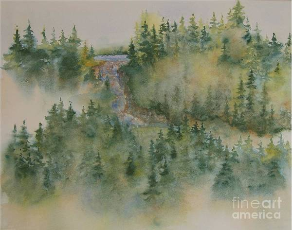 Wall Art - Painting - Smokey Mountain Memories 3 by Lisa Bell