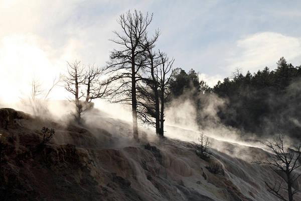 Photograph - Smokey Mountain Yellowstone by Pierre Leclerc Photography