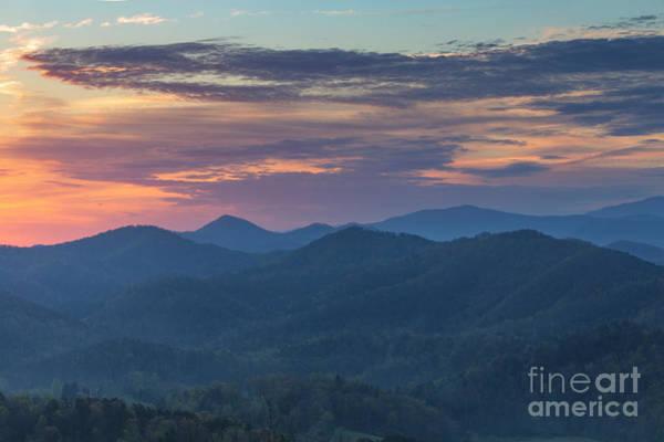 Photograph - Smokies Sunrise by Richard Sandford