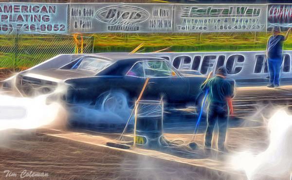Mark Coleman Wall Art - Photograph - Smokin' At Sir by Tim Coleman