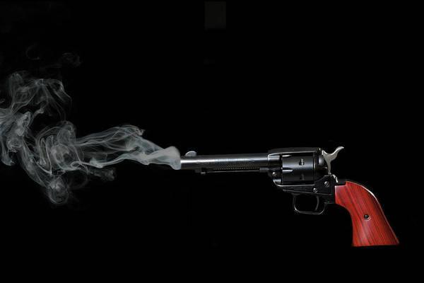 Photograph - Smoking Gun by Dan Friend