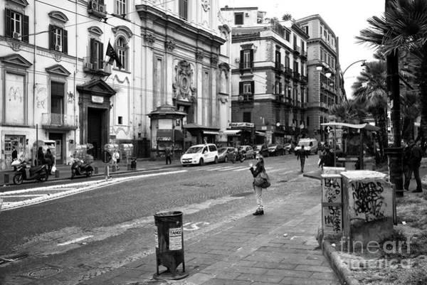 Wall Art - Photograph - Smoking In Naples by John Rizzuto