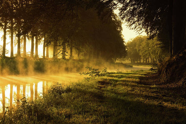Wall Art - Photograph - Smoking River by Martin Podt