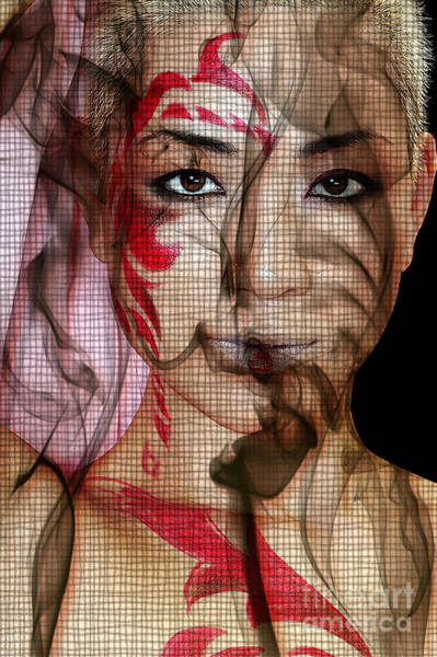 Digital Art - Smoking Web by Clayton Bruster
