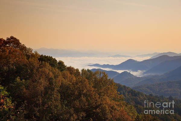 Photograph - Smoky Mountain Sunset by Jill Lang
