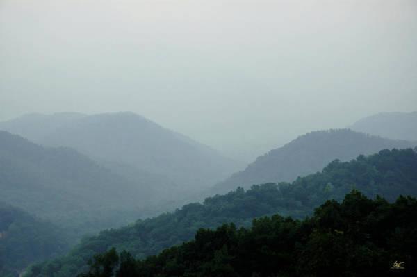 Photograph - Smoky Mountains by Sam Davis Johnson