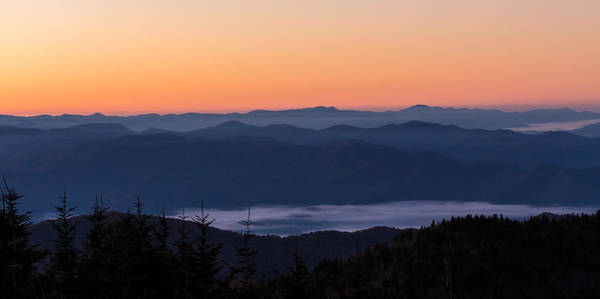 Photograph - Smoky Mouontain Haze by Paul Schultz