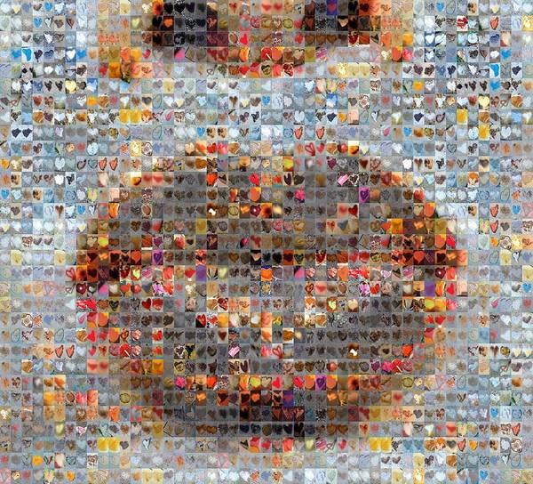 Images Digital Art - Smooch by Boy Sees Hearts