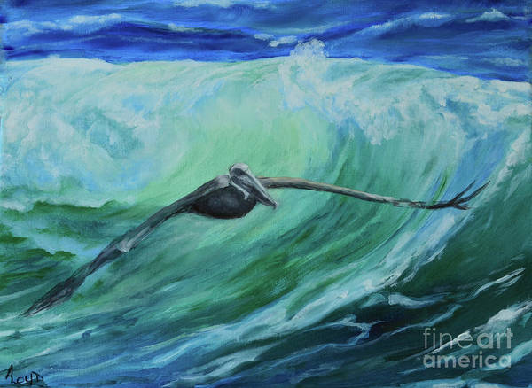 Wall Art - Painting - Smooth Sailing by Ann Loyd