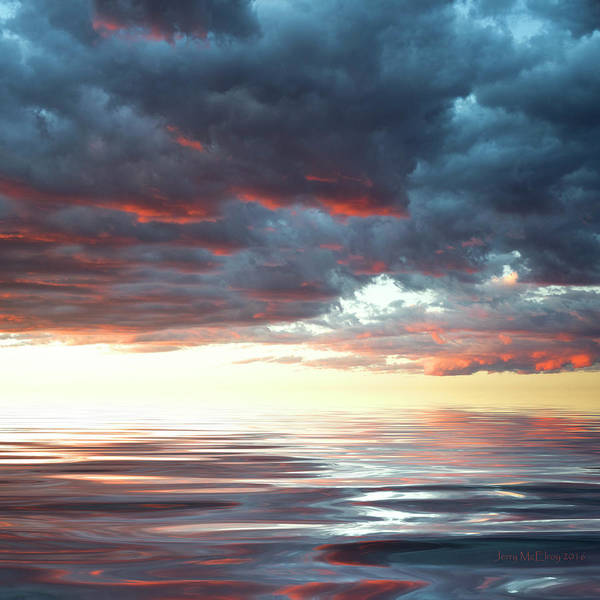 Atmospherics Wall Art - Photograph - Smooth Sailing by Jerry McElroy