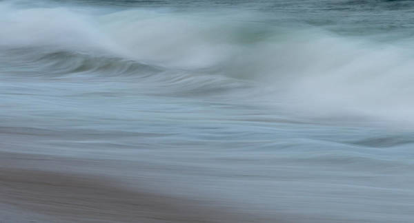 Photograph - Smooth Sea Abstract New Jersey by Terry DeLuco