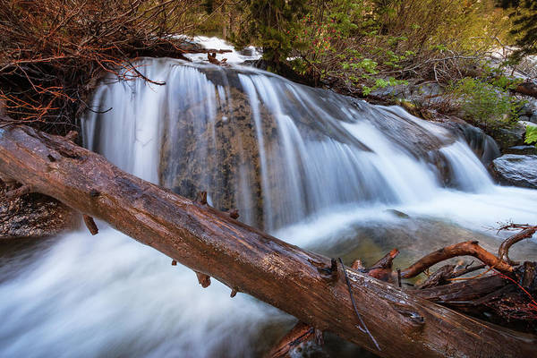 Wall Art - Photograph - Smooth Spring Cascade Symphony by Mike Herron