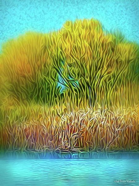 Digital Art - Smooth Sunny Day by Joel Bruce Wallach